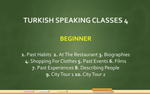 This image shows learning Turkish online classes
