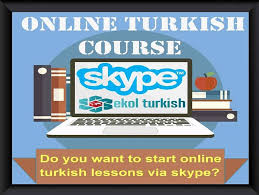Skype Turkish lessons: Online Turkish lessons